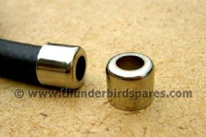 "Petrol Pipe Ferrule, Pair, Fits 1/2"" OD Pipe"